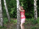 в лесу...