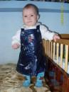 Моя дочурка Поліночка