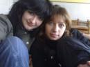 я с подружкой Аленой ))