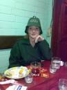 примеряю шапку для бани... октябрь 2008