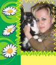 С любимым котом Тимофеем...