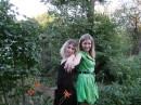 Мы с сестричкой (я в зеленом)