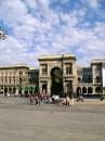 Из Соборной площади (piazza del Duomo) легко попасть в любое место города. Милан.
