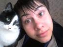 Этот кот ученый =) Он в библиотеке моего универа живет)))