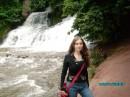 Каскадный водоспад в Червоногороде