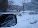 зима преподнесла снежный подарок на Рождественскую ярмарку=) в 2-х часах езды от Торонто. Киченер. 06.12.2008