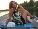 Я летом на лодочке