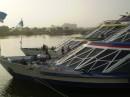 На этой яхте по Нилу плавали) Был обед, танцы живота и фокусы)
