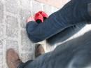 Публіка і черевички (от такі нові - червонокольорові)