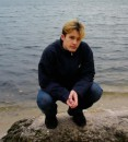 Было очень холодно :) Провожал осень 2004