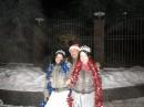 Вот такие прекрасные дамы встречаются на улицах в Новогоднюю ночь! :)