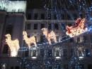 Вот такие красоты из фонариков на губернаторской ёлке Днепропетровска
