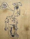 Настенная роспись в пещерах 20 го века...