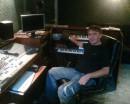 В студии