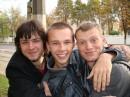 3 кактуса-богатыря ))слева направо:я ,мой друг,друг моего друга