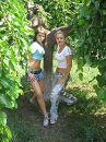 Я с дочкой, лето 2007г.