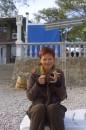 Загораю:-) Пляж в Коктебеле. Сентябрь 2006. Под вечер уже холодно. А не курю я уже с октября 2006 года..