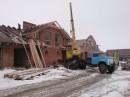 Динамика строительства 13/12/2008