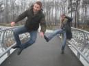 Играли в футбол...Мной)))