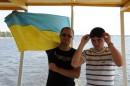 Киев на катере