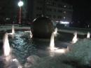 местный эксклюзив - зимний фонтан
