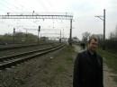 возле железной дороги в Золочеве 28.04.2006