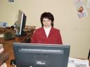 На работе, февраль, 2009