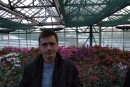 Зима.. ботанический сад...