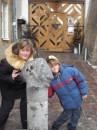 С Ильюшей возле галереи Дзыга