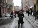 Taniulka hulaje po ulicach Lwowa