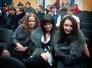 на встрече выпускников) =) 5 лет