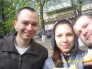 Пасха....ушаем пасочки с крашенками.....раннее утро))))))))
