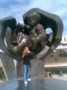 На 1 апреля гуляла на Морвокзале)))