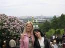сестренка Оленька и я
