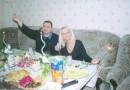 .....все гости остались  за кадром...стеснительные)))
