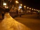 Вот такая набережная ночная. Чуть правее море плещется.