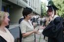 вручение долгожданного диплома магистра :)