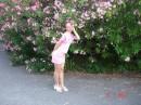 Как я на фоне цветочков?
