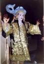 Тунисская невеста в своём свадебном платье. Основная гулянка и них ночью. Рыба Знак богатства