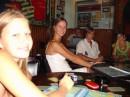Это уже в Опере(кафе в центре), с умным видом изучала меню...