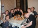 люблю мамкину пиццу )))