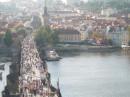 а вот так выглядит Карлов мост сверху)))
