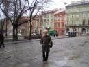 """Я без дождя не представляю тебя, Львов"". А фото, между прочим, сделано было на Рождество."