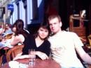 Все тот же Львов - 2004. Мы с другом Андрюхой - возле Дома Кофе)(еще до кофе)))