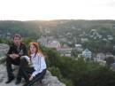 г.Кременец, гора Бона. Я и жена.2005