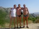 Я справа - в Крымских горах