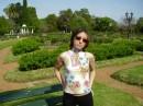 если бы я пришла месяц назад.....то на заднем плане все было бы в цветущих розах....