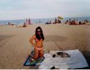 просто пляж и я