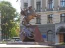 Пам'ятник Юрію Побідоносцю - покровителю Львова