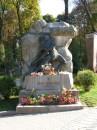 Пам'ятник на могилі Франка
